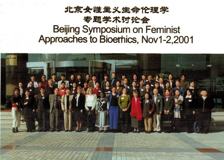 Peking 2001, Symposium on Feminst Approaches to Bioethics, 1-2.11.2001